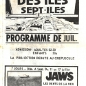 French1976DriveInSchedule1