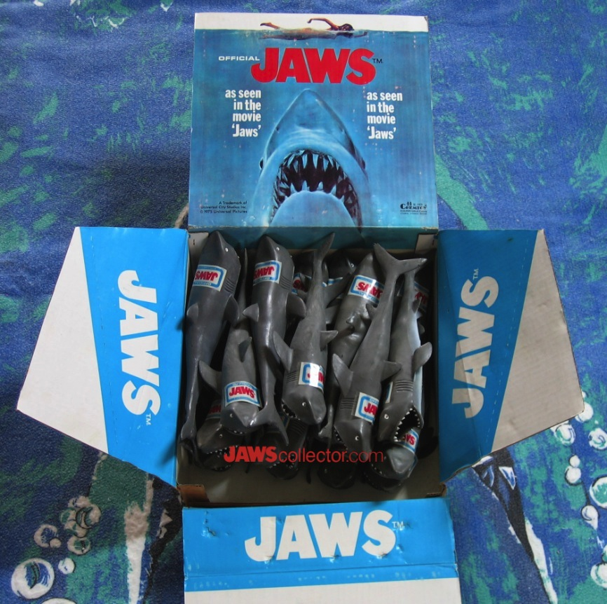 Jaws Rubber Shark Toy : Quot you re gonna need a bigger boat
